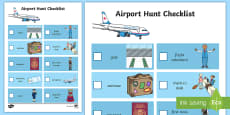 Airport Hunt Checklist