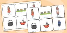 Magic Porridge Pot Matching Cards and Board