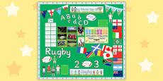 Rugby World Cup Display Pack