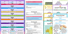 * NEW * EYFS Easter Themed Bumper Planning and Resource Pack