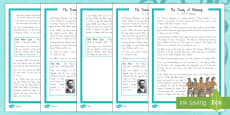 The Treaty Of Waitangi Differentiated Reading Comprehension Activity
