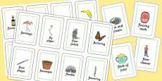 Three Syllable FL Flash Cards
