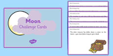 Moon Challenge Cards