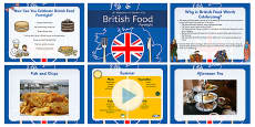 British Food Fortnight PowerPoint
