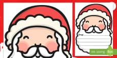 Szablon List do Świętego Mikołaja