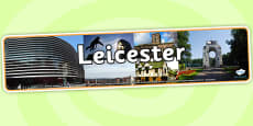 Leicester Photo Display Banner