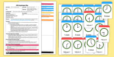 EYFS Adult Input Plan and Resource Pack to Support Teaching on What's The Time, Mr Wolf?