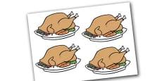Editable Turkeys