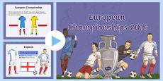 European Championships 2016 Information PowerPoint (Euro 2016)