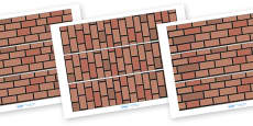 Materials Display Border (Brick Wall)