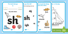 My Phase 3 Digraph Workbook (sh)