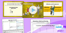 PlanIt - RE Year 6 - Eternity Lesson 5: Humanism Lesson Pack