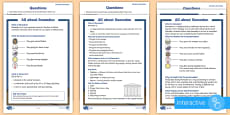 KS1 Ramadan Differentiated Comprehension Go Respond Activity Sheets
