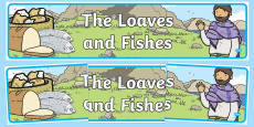 The Loaves And Fishes Display Banner