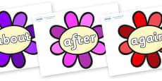 KS1 Keywords on Flowers
