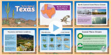 * NEW * The Four Regions of Texas PowerPoint