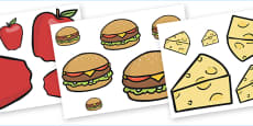 Food Size Ordering Activity