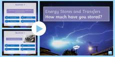 Energy Transfer Quiz PowerPoint