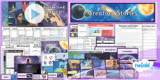 PlanIt - RE Year 6 - Creation Stories Unit Pack