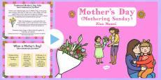 Mother's Day Presentation Romanian Translation