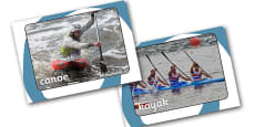 The Olympics Canoeing Display Photos