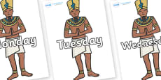 Days of the Week on Egyptian Priests