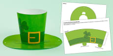 St. Patrick's Day Shamrock Hat