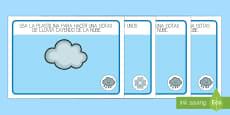 Tapiz de plastilina: El tiempo y las estaciones del año