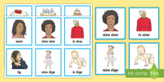 * NEW * Comparative Adjectives Matching Cards Gaeilge