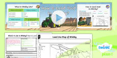 PlanIt Geography Y4 - What's It Like in Whitby? Lesson 3: How Is Land Used in Whitby? Lesson Pack
