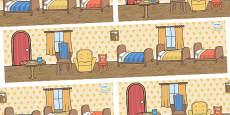 Goldilocks and the Three Bears Small World Background