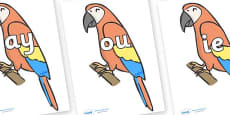 Phase 5 Phonemes on Parrots