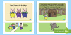 The Three Little Pigs Story
