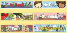 Gaeilge Standard Themes Banners