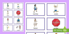 Simon Says PE Game French