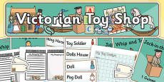 Victorian Toy Shop Role Play Pack