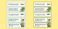 Jack and the Beanstalk Story Sequencing Cut and Stick Activity Spanish