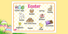 Easter Word Mat