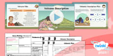 Extreme Earth: Earthquakes and Volcanoes Lesson Pack Story Writing (1)