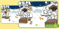 The Gruffalo's Child's Journey Map to Support Teaching on The Gruffalo' Child