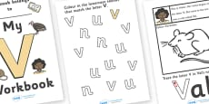 My 'V' Workbook