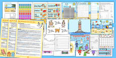 KS1 The Seaside Lesson Plan Ideas and Resource Pack