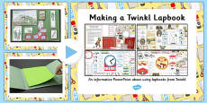 How to Make a Twinkl Lapbook