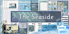 PlanIt - Art UKS2 - The Seaside Unit: Additional Resources