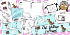 Australia - Old Mother Hubbard Resource Pack