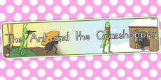Australia - The Ant and the Grasshopper Display Banner