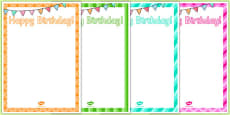 9th Birthday Party Editable Poster
