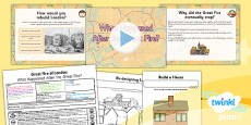 PlanIt - History KS1 - The Great Fire of London Lesson 5: What Happened After the Great Fire? Lesson Pack