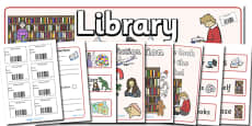 Library Role Play Pack