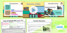 PlanIt - Computing Year 2 - Using and Applying Skills Lesson 6: Scratch Skills Lesson Pack